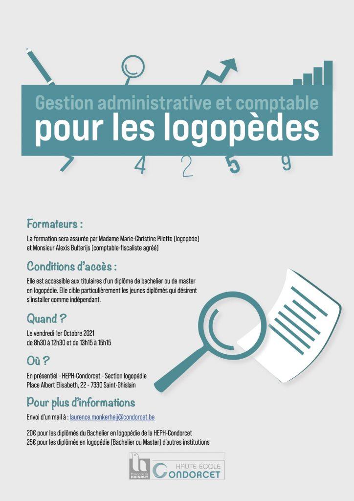 Gestion administrative et comptable pour les logopèdes